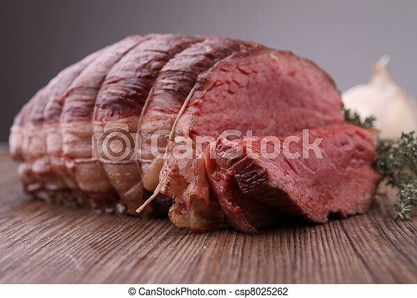 roasted beef - csp8025262