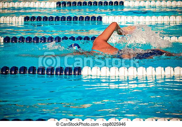 Swimmer - csp8025946