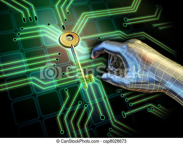 Access key - csp8028673