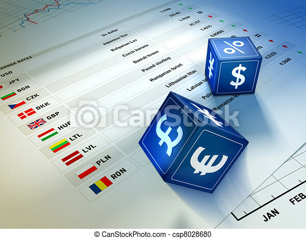 Currency exchange - csp8028680