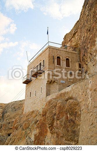 Monastery of Temptation, Palestine, Israel - csp8029223