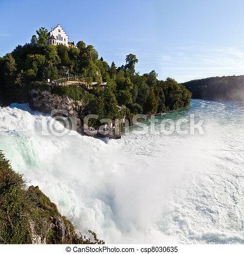 Rhine Falls, Switzerland - csp8030635