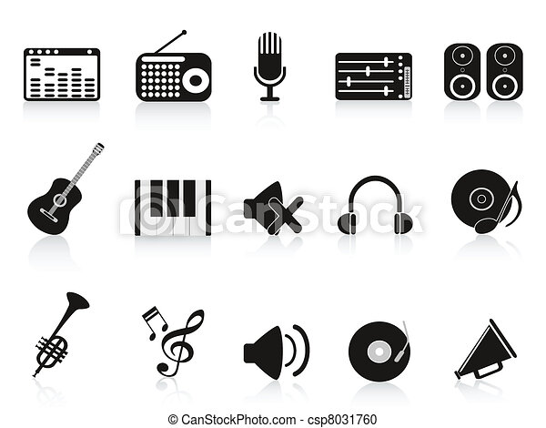 music sound equipment icon - csp8031760