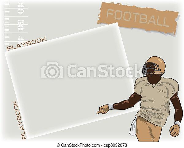Playbook football - csp8032073