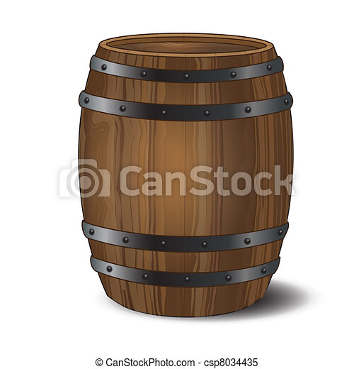 Beer Barrel Drawing Barrel a Wooden Beer or Wine