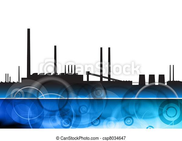 blue factory - csp8034647