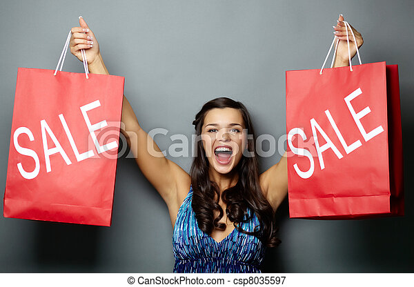 Let?s go for sale! - csp8035597