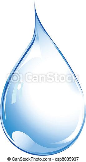 Water drop - csp8035937