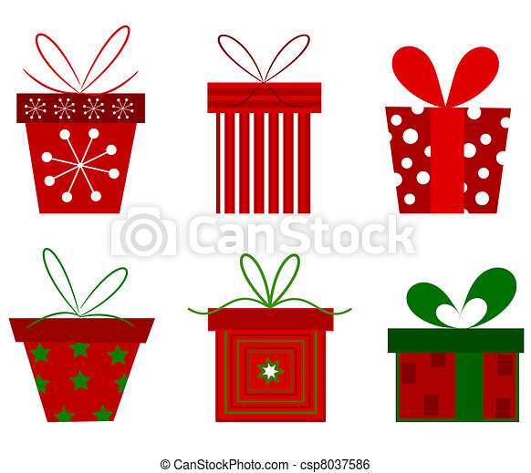 Christmas presents Clipart Vector and Illustration. 81,631 ...