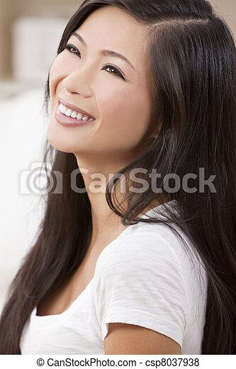 images de beau femme chinois oriental asiatique sourire a csp8037938 recherchez des. Black Bedroom Furniture Sets. Home Design Ideas