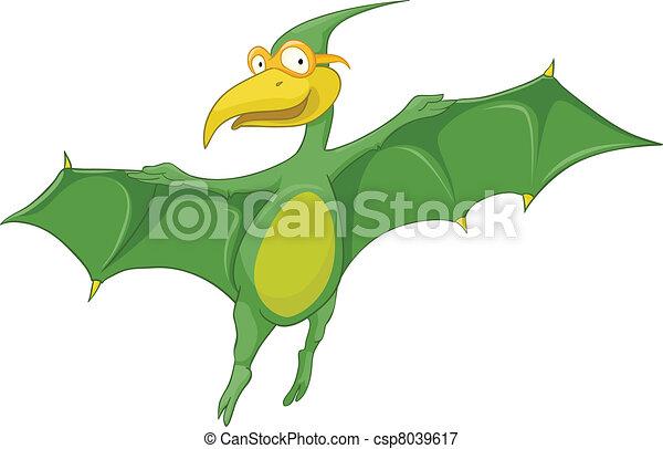Cartoon Character Dino - csp8039617