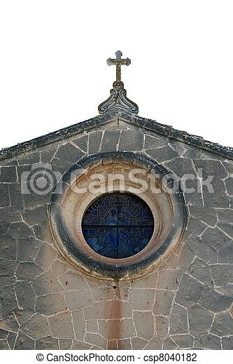 The ancient church - csp8040182