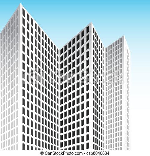 Tall Skyscraper - csp8040634
