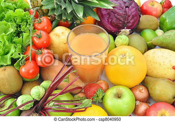 Fruit and juice beverage  - csp8040950