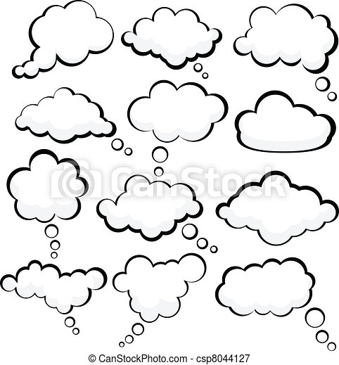 Speech clouds. - csp8044127