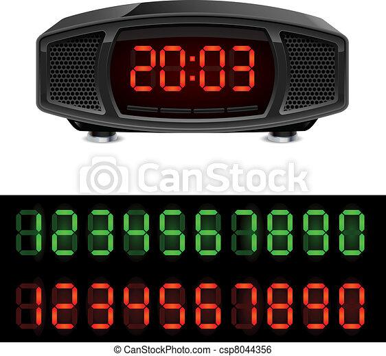 Radio alarm clock - csp8044356