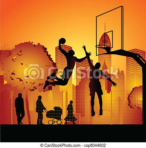 streetball - csp8044602