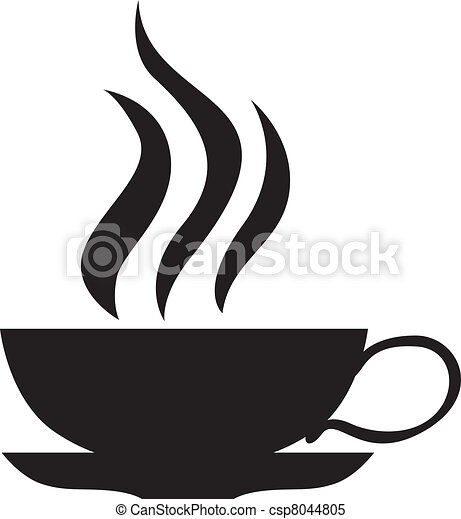 A small cup of tea - csp8044805