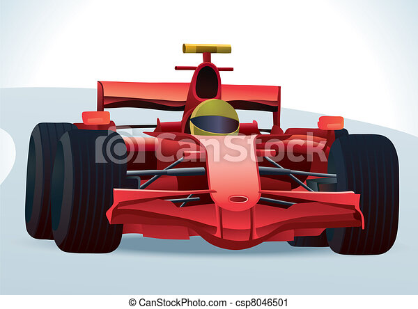 F1 Racing Car - csp8046501
