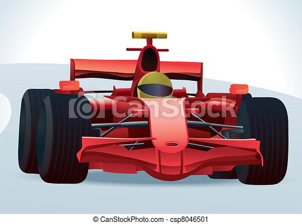 F1 Racing Car - csp8046501