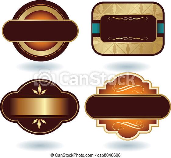 Clip Arte Vetor De Logotipo Modelo Chocolate Chocolate