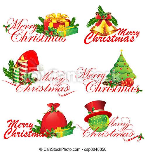 Merry Christmas - csp8048850