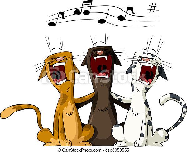 Three cat - csp8050555