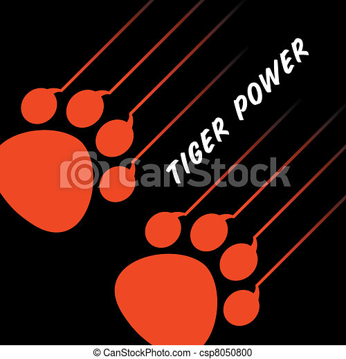 Tiger paw Vector Clipart Illustrations. 1,480 Tiger paw clip art ...