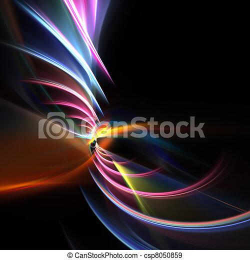 Swirly Fractal Swoosh Layout - csp8050859