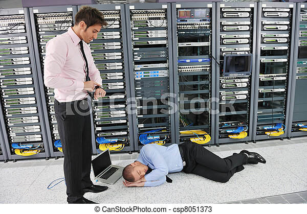 system fail situation in network server room - csp8051373