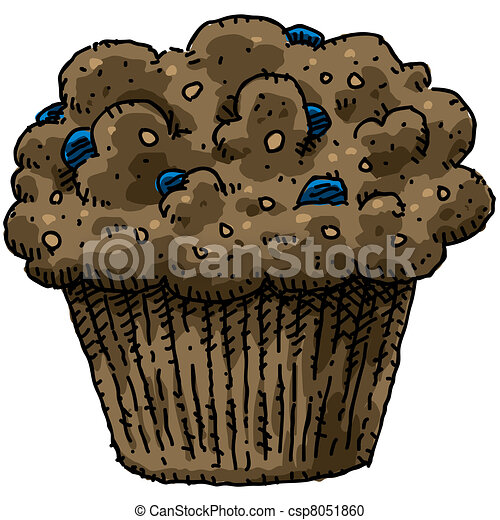 Blueberry Muffins Clipart Blueberry Muffin Clipart