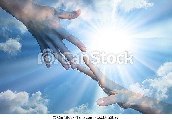 Hope of peace  - csp8053877