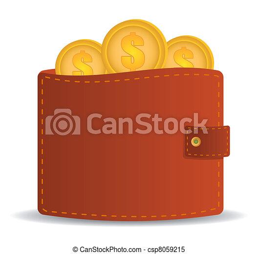 Open wallet Vector Clipart Illustrations. 1,142 Open wallet clip ...