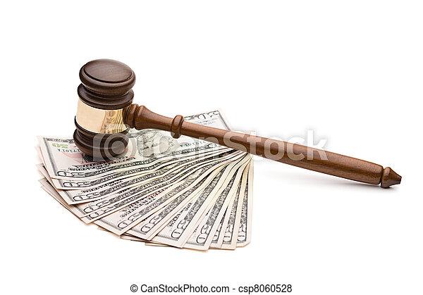 Law and money - csp8060528