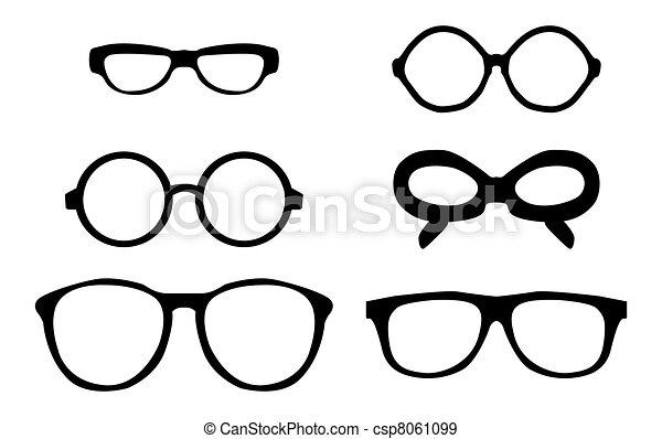 vintage sunglasses - csp8061099
