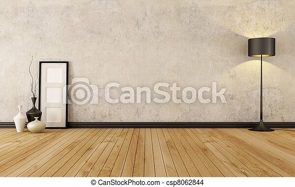 Empty grunge interior - csp8062844