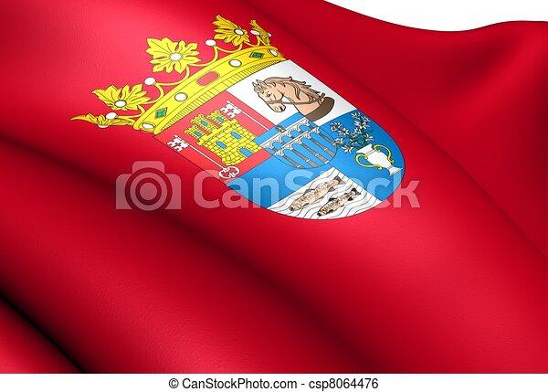 illustration de drapeau segovia province espagne fin haut csp8064476 recherchez des clip. Black Bedroom Furniture Sets. Home Design Ideas