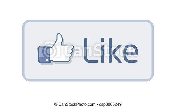Thumb Up - Like 2 - csp8065249