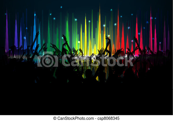 Music Party - csp8068345