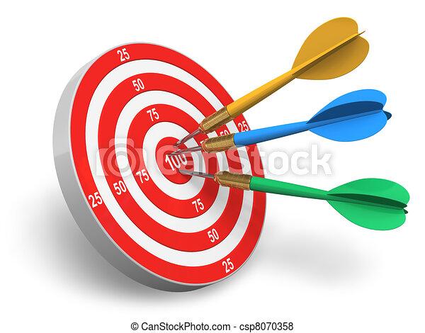 Darts game - csp8070358