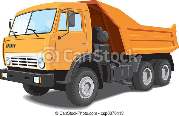 Dump truck - csp8070413
