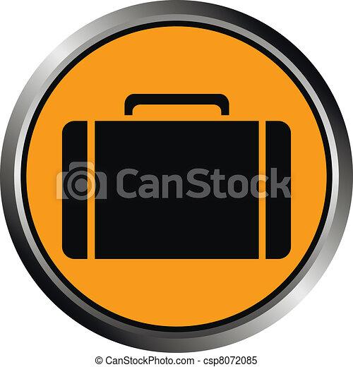 Button with a portfolio  - csp8072085