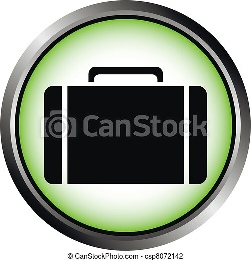 Button with a portfolio - csp8072142