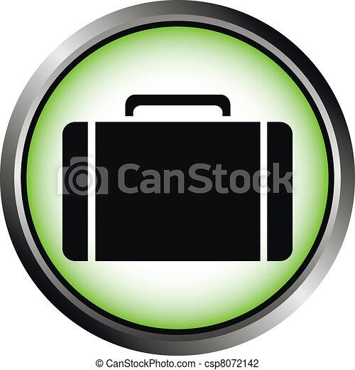 Button with a portfolio  - csp8072142