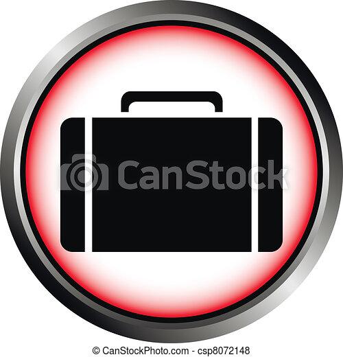 Button with a portfolio  - csp8072148