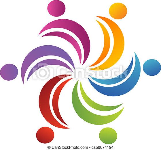 Teamwork united logo - csp8074194