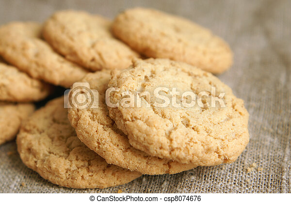 Sugar cookies - csp8074676