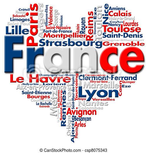 I Love France - csp8075343