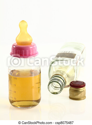 Maternity and alcohol - csp8075487