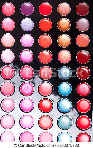 Colorful lip gloss palette - csp8075730